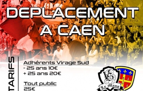 D�placement � Caen